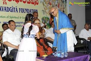 Gangadhar's Bhagavadgeeta Recording Complete