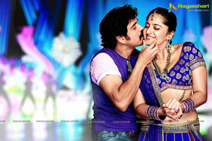 Nagarjuna, Anushka Damarukam  Photos