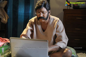 Rajendra Prasad getups in Lovely