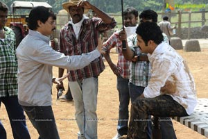 Boyapati Srinu Dammu Working Stills