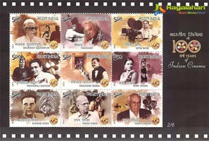 100 Years of Indian Cinema Stamps