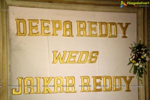 Deepa Reddy Jaikar Reddy Wedding