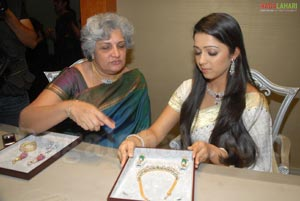 Charmi at Shobha Asar Jewellery Exhibition