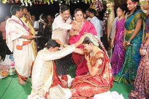 Pokuri Venkata Kishan-Soumya Wedding Function
