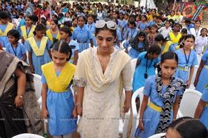 Launch of International Human Right Association By Minister  Pardha Saradhi and Miss India Vasuki Sunkara