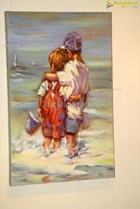 Hari Srinivas Painting Exhibition at Muse Art Gallery