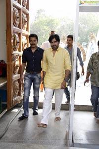 Trivikram Pawan Kalyan Film Muhurat