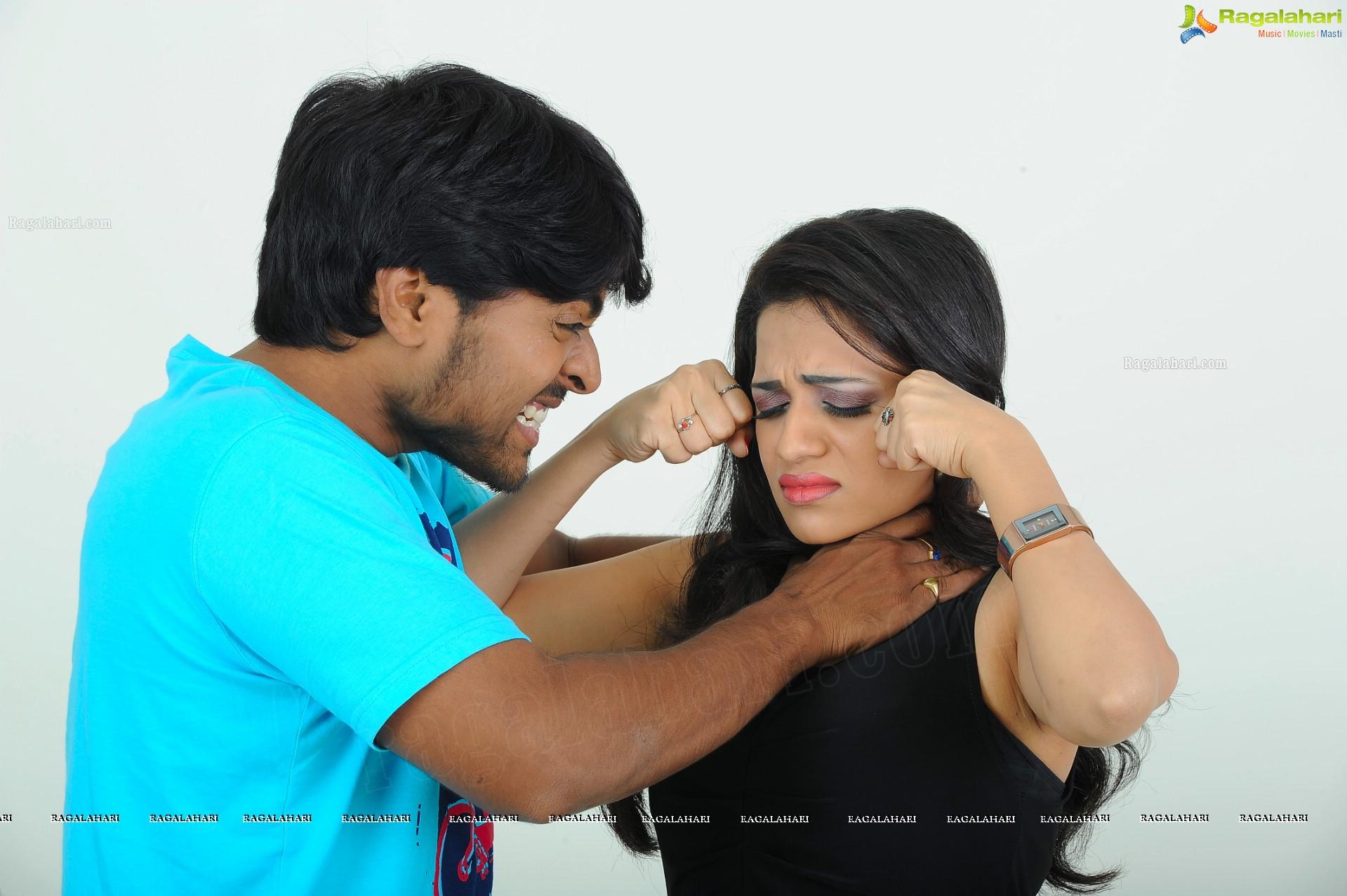 Telugu Cinema Love Cycle Movie Photos High Definition Cast