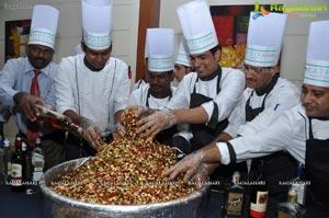 Katriya Hotel Cake Mixing Ceremony 2012