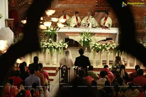 Choreographers Shobi Lalitha Wedding Santhome Church