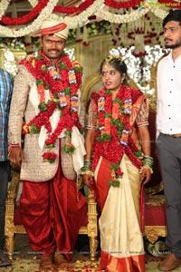Anitha Ravishwar Goud Wedding