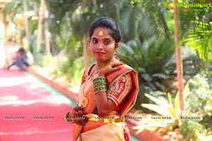 Anitha Ravishwar Goud Wedding