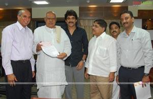 Maa TV Donated 30 Lakhs to CMRF