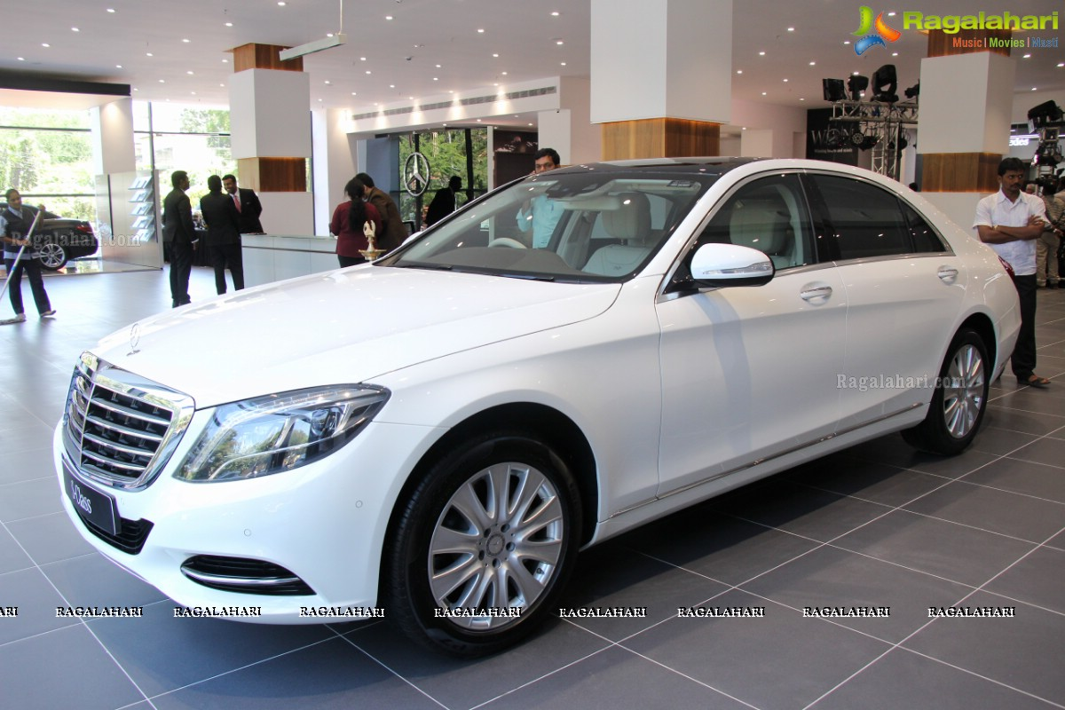 Silver Star Mercedes Benz Showroom Launch At Somajiguda