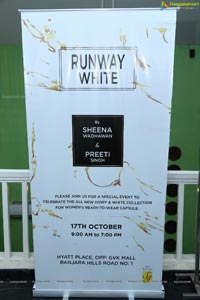 Sheena Wadhawan's Runway White Exhibition