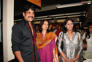 Nagarjuna-Amala Launchesthe Book 'Blossom Showers' by Giselle Mehta