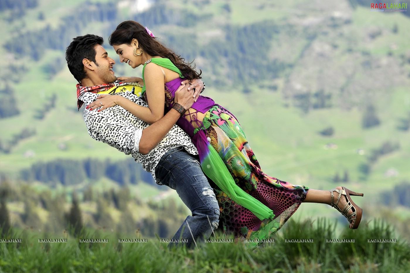 prince mahesh babu and samantha's dookudu movie gallery (poster size
