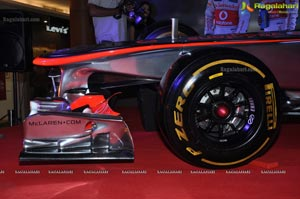Vodafone McLaren Mercedes Racing Car Hyderabad